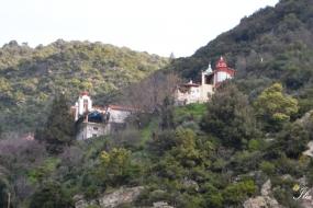 Κάτω από την Ιερά Μονή Αγίου Γεωργίου