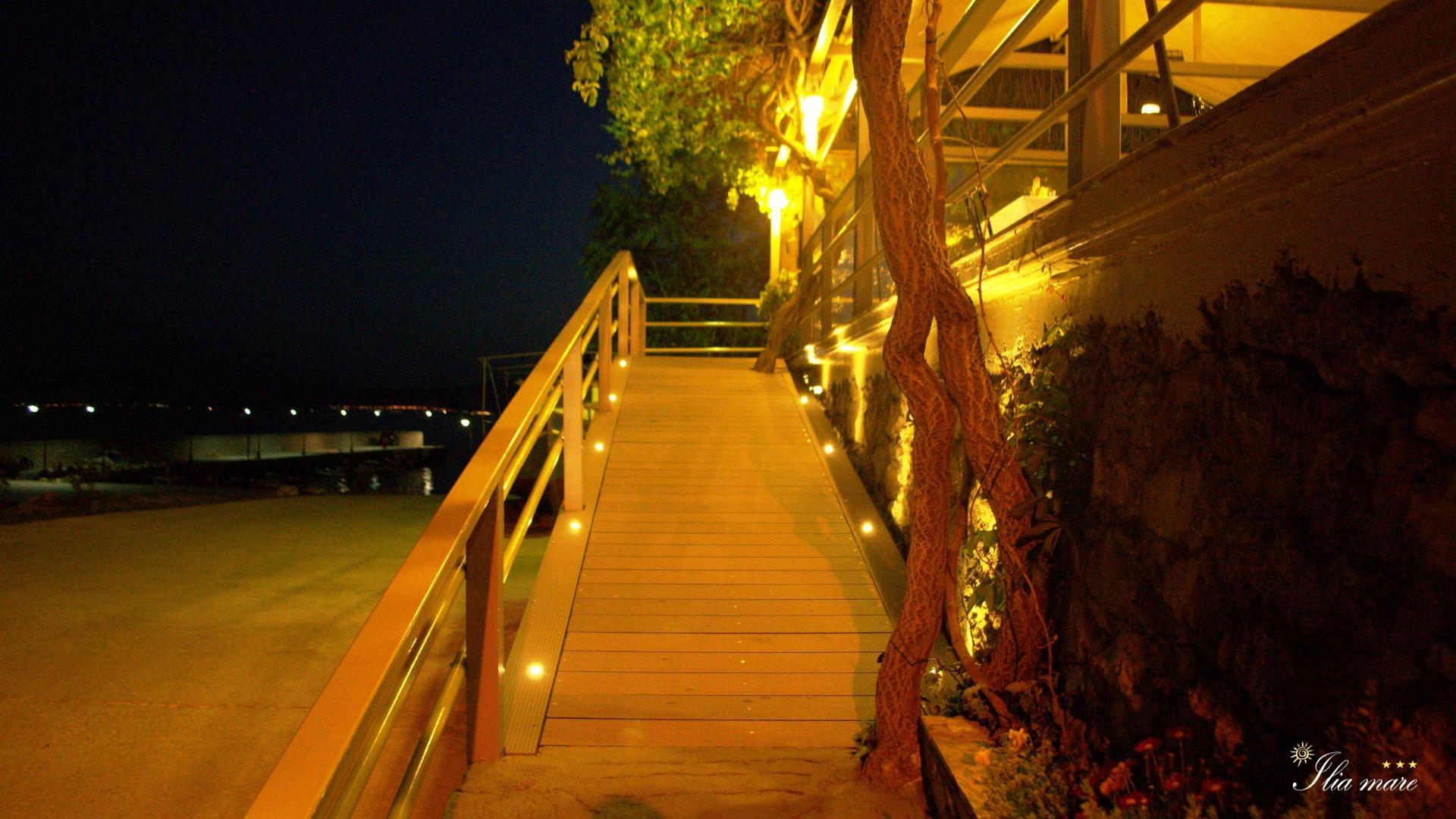 Pharos Restaurant By Night