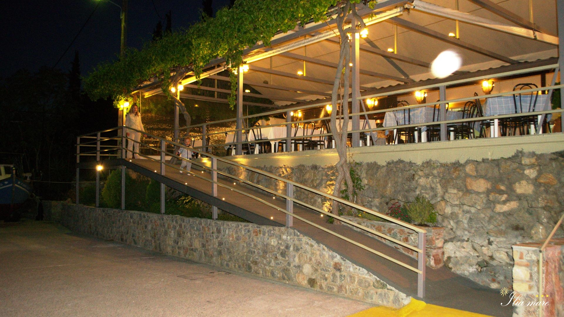 Pharos Restaurant By Night