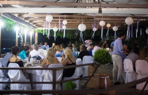 Pharos Restaurant Events - Thodoris and Alexandra Marriage