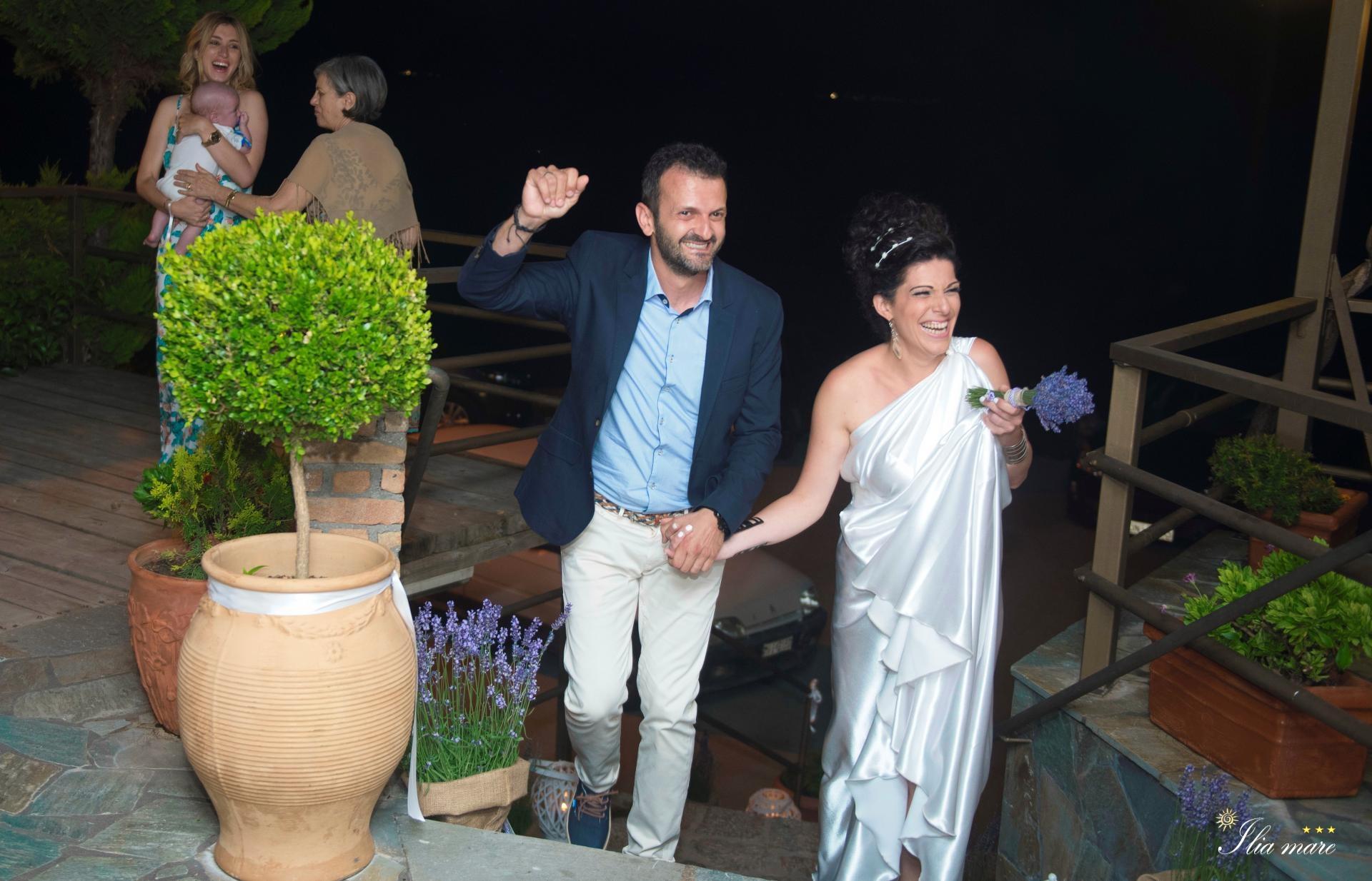 Pharos Restaurant Events - Thodoris and Alexandra Marriage