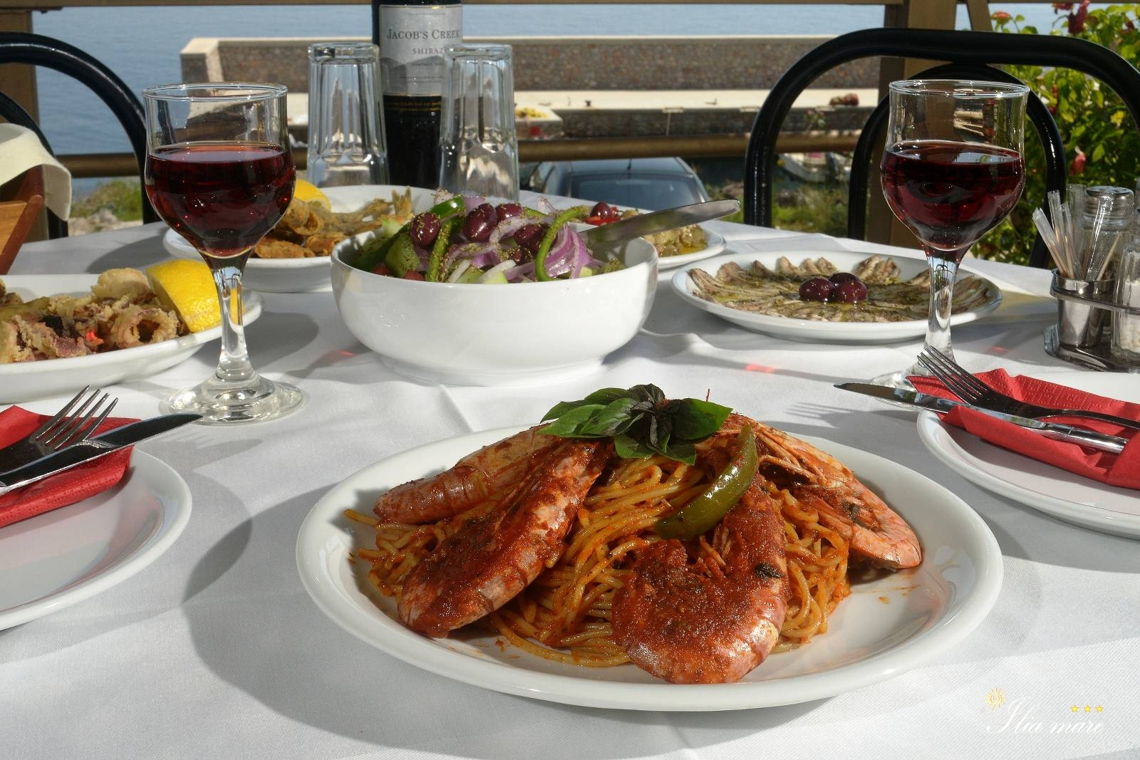 Pharos Restaurant Menu