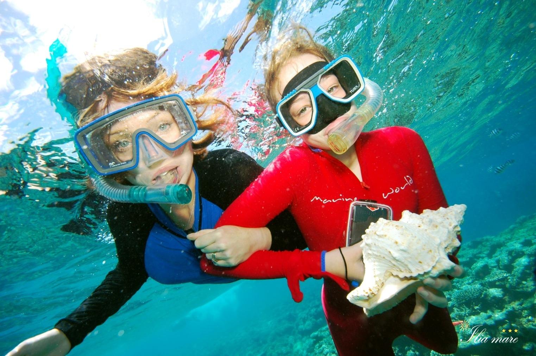 Δραστηριότητες στη θάλασσα