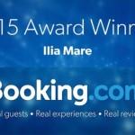 Award Winner 2015 το Ilia Mare Hotel στο Booking.com!