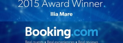 Award Winner 2015 - Booking.com